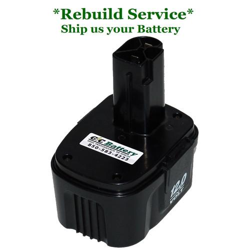 Craftsman REBUILD Service for 12V Model CDT112GU-104