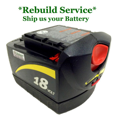 SKIL REBUILD Service for 18V Model SB18A