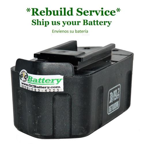 Porter Cable REBUILD Service for 19.2V Models 8823, 8923