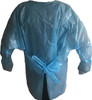 Thumb Loop Isolation Gown Back View