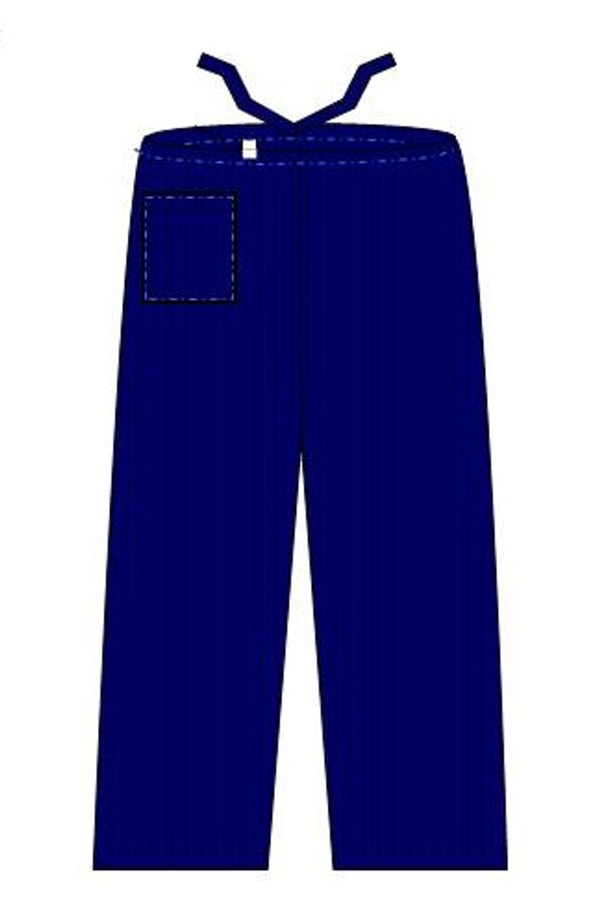 "Scrub Pant, Navy Blue, Large 45"""