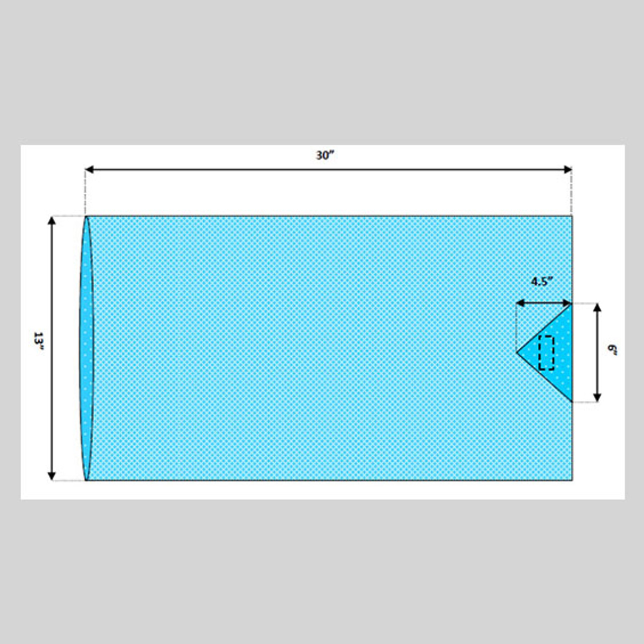 """Arm Board Cover without Arm Strap, 30"""" x 13"""""""