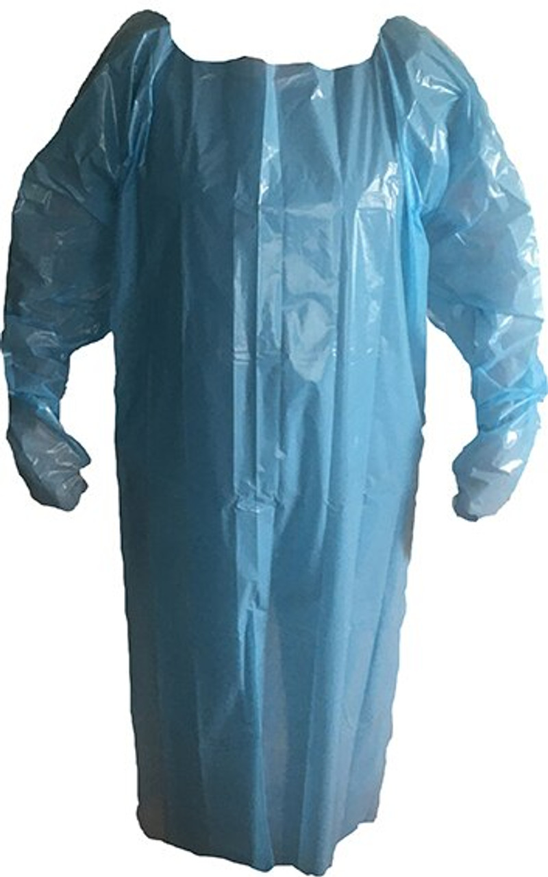 Thumb Loop Isolation Gown Front View