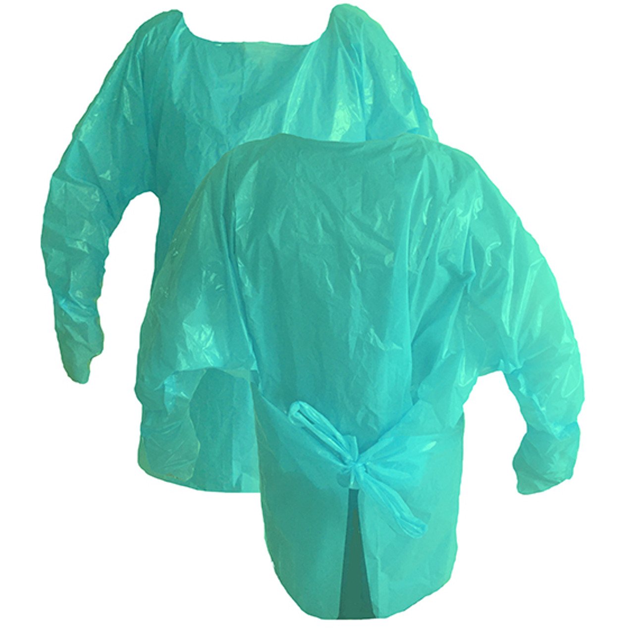 GoGreen Biodegradable Thumb Loop Isolation Gown