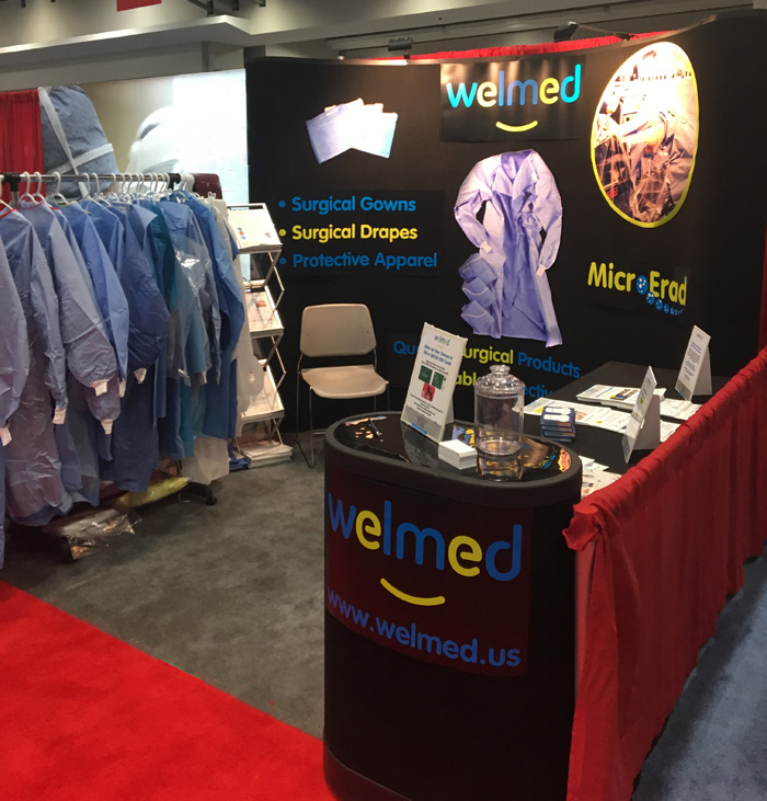 Come see Welmed in our tradeshow booth