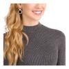 Swarovski Hollow Pierced Earrings,  Rose Gold