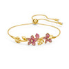 Swarovski Tropical Fuchsia Flower Bangle