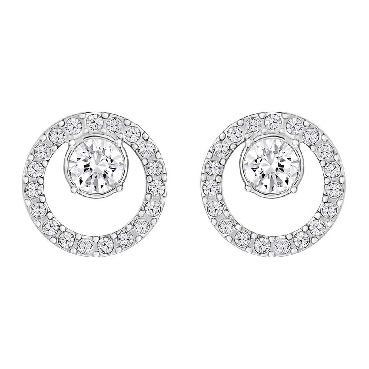 31f1c8cb1 Swarovski Creativity Small Circles Stud Earrings