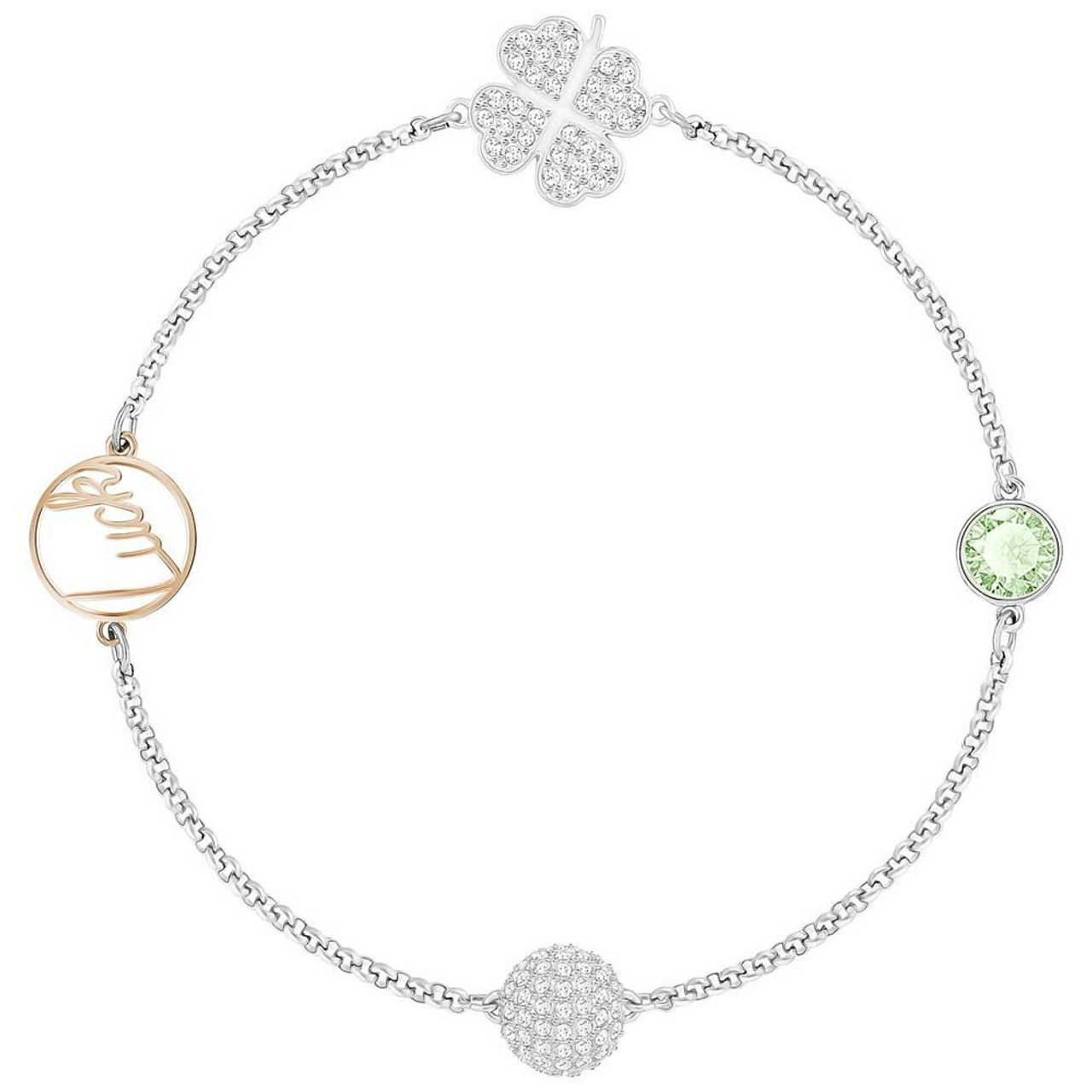 ea329f3d953a3 Swarovski Remix Collection Bracelet with Clover and