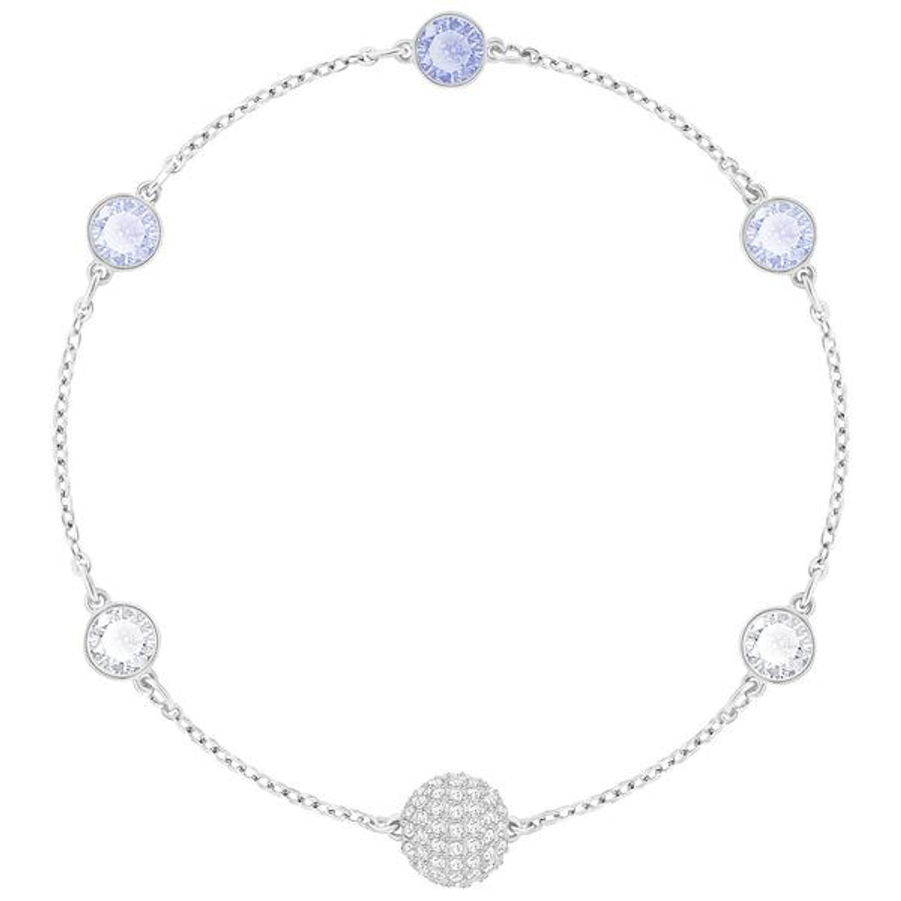 bd419a2c6 Swarovski Remix Collection Timeless Bracelet with Blue Crystals - Best  Accents