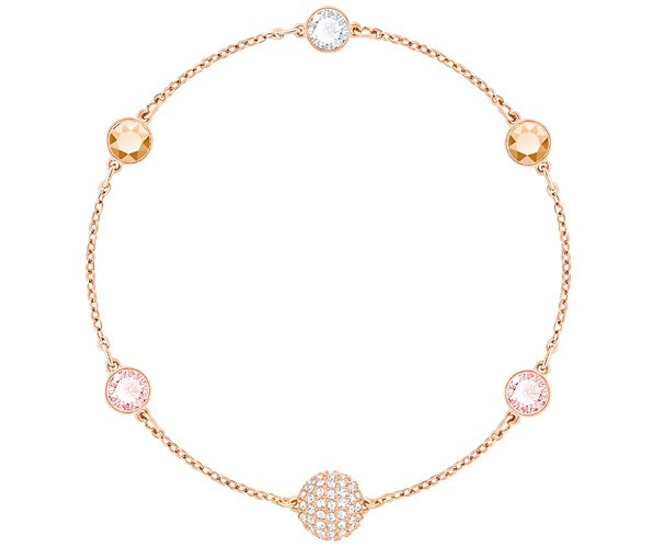 197c26636 Swarovski Remix Collection Timeless Bracelet in Rose-Gold - Best Accents