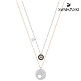 Swarovski Crystal Wishes Evil Eye Pendant Set