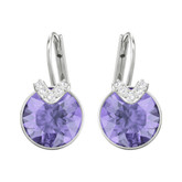 Swarovski Bella V Small Violet Earrings