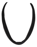 Adami & Martucci Black Mesh Necklace/String for Pendants (not included)