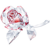Swarovski Blossoming Rose, Red Color