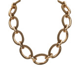 Adami & Martucci Gold Mesh Chain Links Necklace