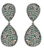 Atelier Swarovski Moselle Double Drop Earrings
