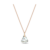Swarovski Spirit White Crystal Pendant in Gold-Tone