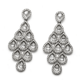 Oliver Weber Diva Crystal Drop Earrings