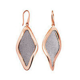 Adami & Martucci Silver Mesh Drop Earrings