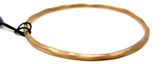 Adami and Martucci Matte Finish Small Bangle, Rose-Gold