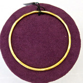 Adami and Martucci Matte Finish Small Bangle, Yellow-Gold