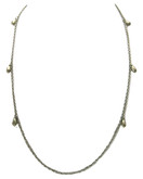 Adami and Martucci Classic Silver Chain with Small Drops