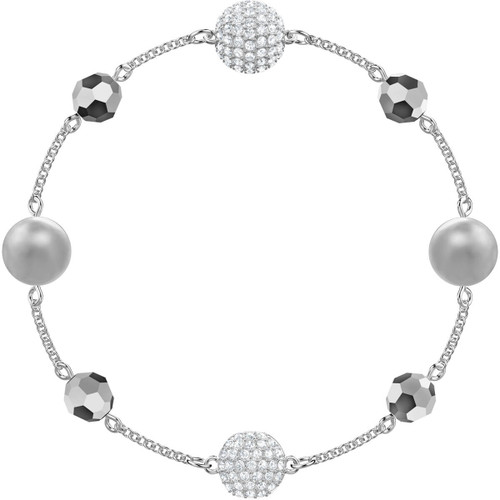 Swarovski Remix Collection Bracelet with Beads, Rhodium