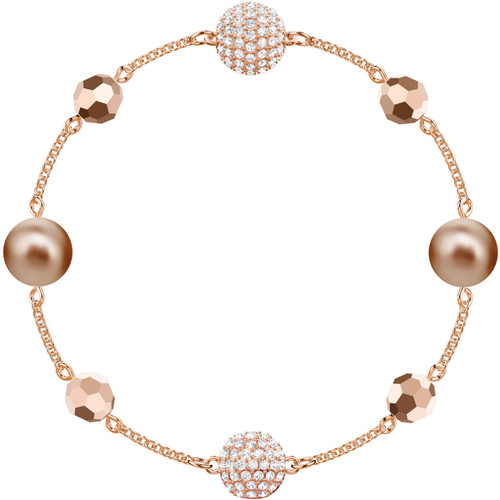 Swarovski Remix Collection Bracelet with Beads, Rose Gold