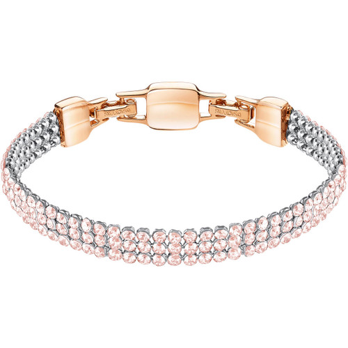 Swarovski Clim Crystal Mesh Bracelet, Rose