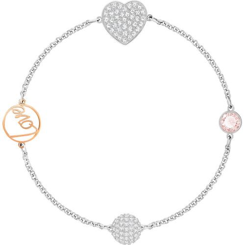 Swarovski Remix Collection Heart Strand Bracelet