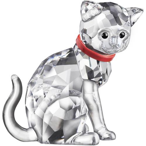 Swarovski Mother Cat Crystal Figurine