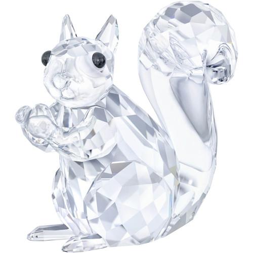 Swarovski Squirrel Crystal Figurine