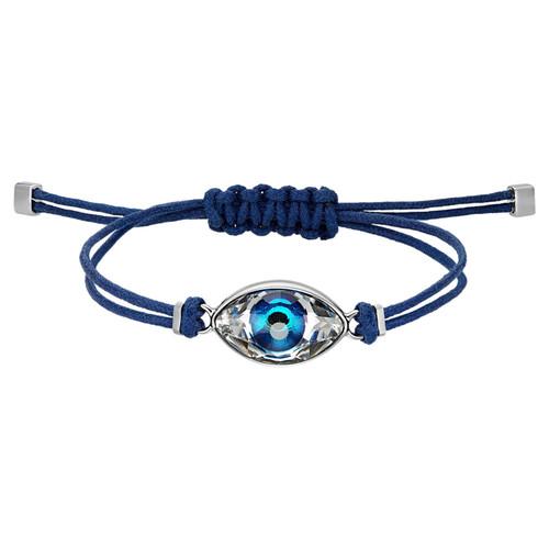 Swarovski Power Collection Blue Evil Eye Bracelet