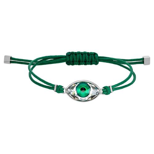 Swarovski Power Collection Green Evil Eye Bracelet