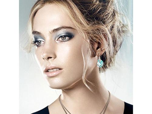 4d16293ff Swarovski Galet Lazo Pierced Earrings · Swarovski Galet Lazo Pierced  Earrings