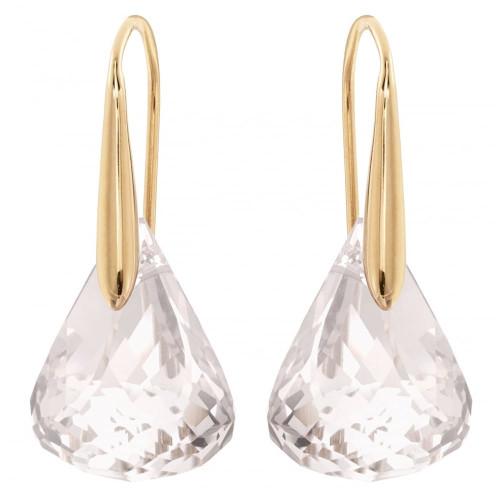 Swarovski Lunar Rose Gold Pierced Earrings