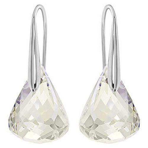 Swarovski Lunar Clear Pierced Earrings