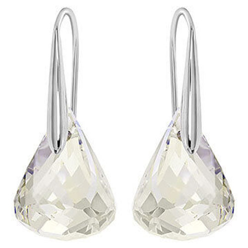 Swarovski Lunar Clear Pierced Earrings