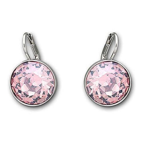 Swarovski Bella Pink Crystal Earrings