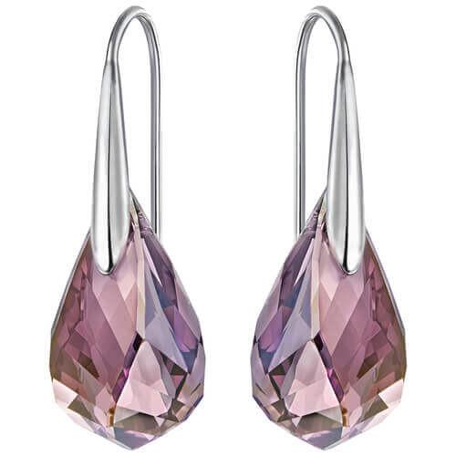 Swarovski Energic Light Purple Pierced Earrings