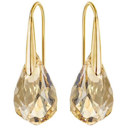 Swarovski Energic Gold Pierced Earrings