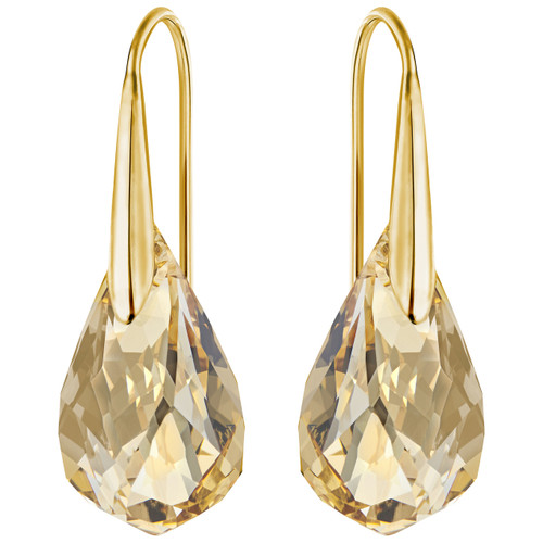 Swarovski Energic Gold Pierced Earrings