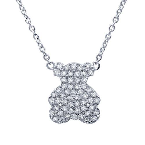 Miss Crislu Teddy Bear Necklace