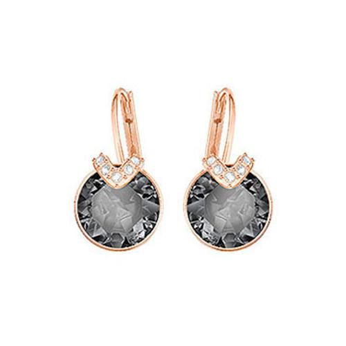 Swarovski Bella V Small Earrings, Rose Gold