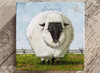 Fanciful  Sheep  Giclee Wall Art