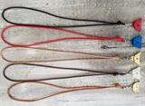 Soft Lamb Nappa Leather Lanyard - Swivel Clip