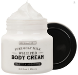 Vanilla Absolute Whipped Goat Milk Body Cream