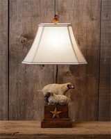 Lamp/ Primitive Sheep Star Lamp