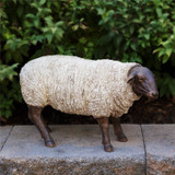 Sheep/  Country Primitive Farmhouse Large Standing 16""